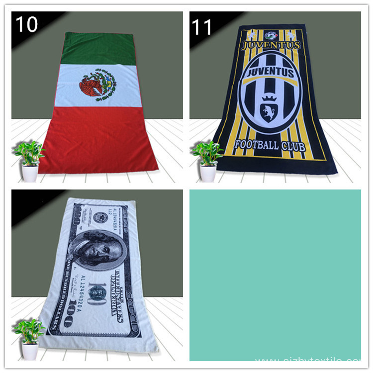 2018 Hottest Summer Trend Large Flag Beach Towel