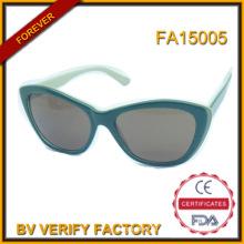 Fa15005 neue trendige Fabrik handgefertigten Acetat polarisierte Sonnenbrille