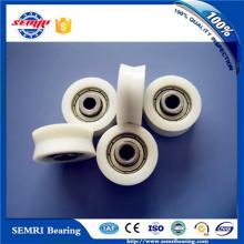 Janela de porta Rodas de nylon pequeno rolo de plástico Rodas com rolamentos