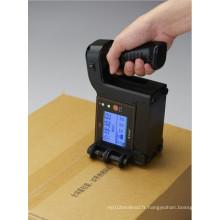 Petite imprimante jet d'encre portable pour la date d'expiration