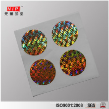 GENUINE Numbered Hologram Laminate Stickers with Custom Size