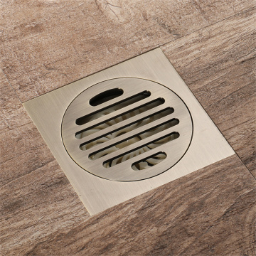 Full Copper Antique Copper Floor Drain
