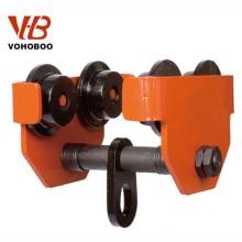 Manual Series 1 Ton 1000kg Chain Hoist Trolley en venta