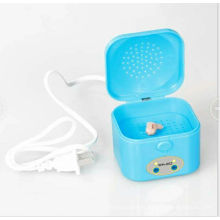 Electronic Hearing Aid Dryer Case with Timer & Universal Adaptor