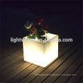 comercial plantadores potes/ao ar livre levou flor luminosa potes plástico