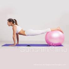 Rutschhemmende Fitness statische Festigkeit Übung Gymnastikball physikalische Therapie