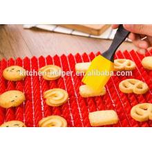 Hot Sell duradero de grado alimentario de silicona antiadherente para hornear Mat Set