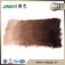 2017 en gros doux mongol agneau fourrure peau plaque