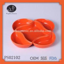 Innovativer Platten-Set, Steingut-Geschirr, Farbe Keramik-Platte-Set