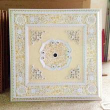 Plafonnier artistique suspendu à l'art décoratif doré Dl-1182-7