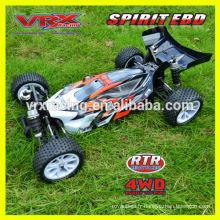 1:10th piles, voiture RC, buggy 4WD, voiture de course marque VRX.