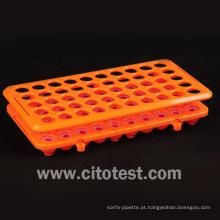 Rack de tubo de ensaio de plástico (4050-4305)