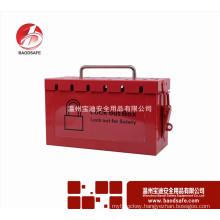 Group lockout kit safety padlock box