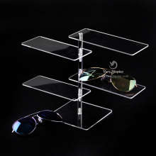 Customized sun glasses counter display rack
