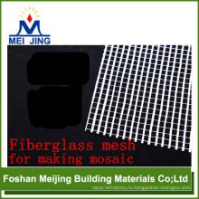хорошее качество стекловолокна мозаика сетки для изготовления мозаики из красный пейзаж