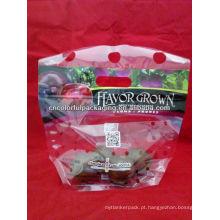 Sacos perfurados plásticos / sacos perfurados frutas e legumes / sacos de plástico perfurados