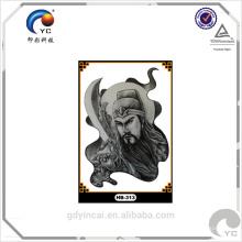 Tatouage d'autocollant de corps de nouveauté de qualité (série de culture chinoise)