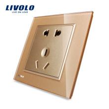 Электрическое промышленное гнездо Livolo 5-контактная вилка и розетка VL-W2C1D-13
