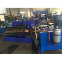 Almacén Logístico Almacenamiento de Metal Display Pallet Rack Roll Formando Máquina de Producción Tailandia