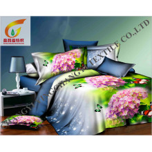 Venda quente cama usar tecido de poliéster