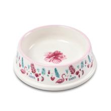 High Quality Modern Stylish Food Grade Melamine Portable Luxury Pet Bowl