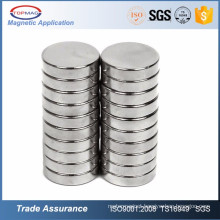 High Quality Strong Magnet With 3m Adhesive Coated Round NdFeB Magnet