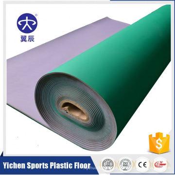 5mm Tischtennis-PVC-Vinylsport-Gerichts-Bodenbelag in der Rolle