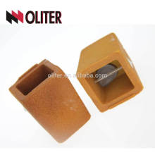 Mesure à usage unique CEL C Si cupule d'analyse thermique carrée en carbone et silicium