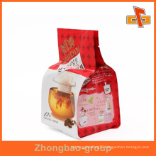 Guangzhou printing and packaging manufacturer wholesale laminated material custom gravure printed side gusset plastic bag