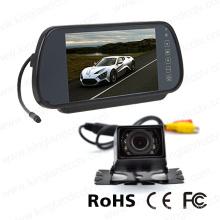 Monitor del espejo de la pantalla de 7inches LCD Digitaces con la mini cámara del coche
