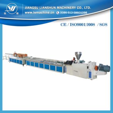 Linha De Produção De Perfil De Plástico PVC WPC