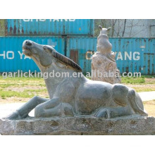 Encantadora pedra escultura de gado
