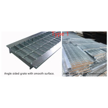 Hot DIP Galvanised Sump Steel Grate for Checkered Plate Trench Drain Cover