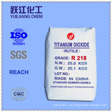 Rutilo Titanium Dioxide Fabricante de Propósito General con Precio Favorable