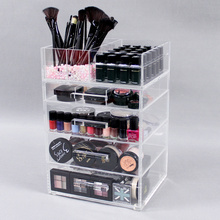 Large Acrylic Makeup Organizer Drawers