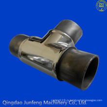 Изготовленный на заказ штуцер трубы нержавеющей стали, штуцер трубы именами и деталями