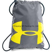 Sac à provisions fait sur commande de cordon de publicité de recyclage