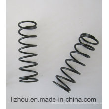 Large Compression Spring with Blackening