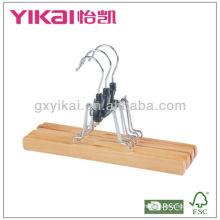 Горячая продажа деревянных вешалок для брюк