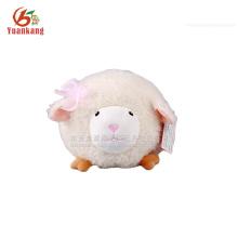 Brinquedo de pelúcia de ovelhas gordas brancas de 20cm