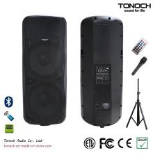 Heißer Verkauf Dual 15 Zoll Plastik PA Lautsprecher für Modell Thz215ub