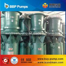 Pompe d'hélice submersible avec flux axial / flux mixte