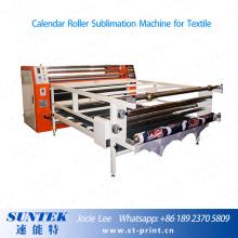 Calendário rotativo calor imprensa máquina de sublimação para t-shirt, têxteis