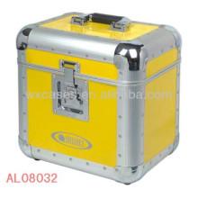 starke und leere Aluminiumgehäuse mit EVA Innenfutter