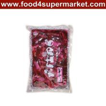 Eingelegte Sushi-Gurken-Scheibe Fukujinzuke Rosa / roter Beutel 300g und 1kg für Sushi-Material