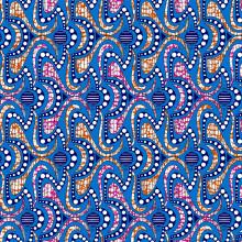 cotton wax fabrics Java Design Colours 24x24 72x60