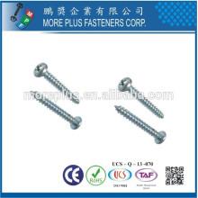 Taiwan Self Tapper Parafuso de cabeça de panela M2.8X12.7 Phillips Slotted Combo Topping Screw