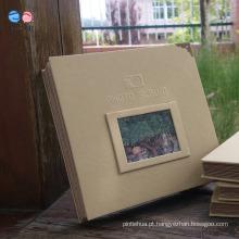 Álbuns de fotos DIY de tamanho A4 de capa dura de alta qualidade (XF16K-01)