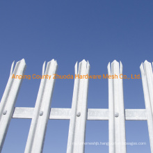 High Security Steel Palisade Fence Made in China