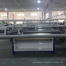 2017 QL-52C einzelwagen doppel system pullover machen flachstrickmaschine